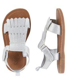 OshKosh Fringe Sandals
