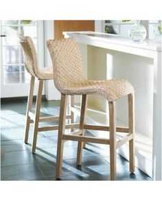 Pull up one of our gracefully flowing Sanders Wicker