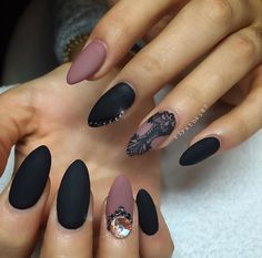 Matte Overload With A Touch Of Bling ;)
