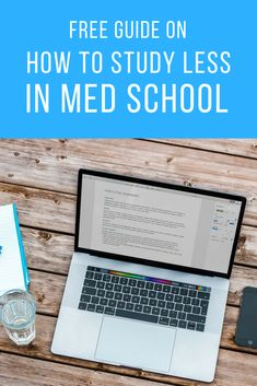 Want my favorite study tip for med school? Here's my step-by-step method to study less in med school while keeping my grades high. School Hacks, School Tips, Getting Into Medical School, School Scholarship, Medical Billing And Coding, Study Schedule, School Health, Med Student, School Motivation