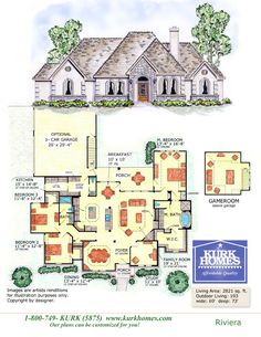 Kurk Homes | Featured Plans would have to make a few changes