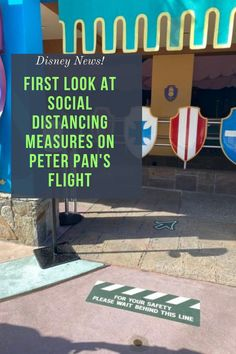 What do Disney Rides look like now?  Social Distancing In Line For Peter Pan's Flight | First Look Photos Disney World Vacation Planning, Walt Disney World Vacations, Disney Cruise, Disney World Rides, Disney World Parks, Disney Gift Card, Disney Tickets, Disney World Magic Kingdom, 10 News