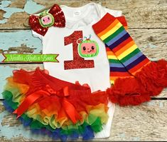 Cocomelon Birthday Outfit for Baby Girl, Girls Cake Smash – Needles Knots n Bows Baby Girl 1st Birthday, Birthday Cake Smash, 1st Birthday Outfits, Birthday Photos, Birthday Shirts, Half Birthday, Cake Smash Outfit Girl, Baby Girl Cakes, Baby Girls