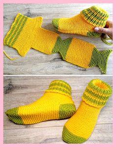 Neuen : Twee naaldsokken - Gratis breipatroon (geweldig breien) , #breien #breipatroon #geweldig #gratis #naaldsokken