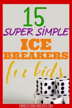 This simple game from Homeschool Hideout is the perfect ice breaker for kids! All you need is the free printable and a bag of Skittles. #icebreaker #games #activities #gettingtoknowyou #kids #makingfriends