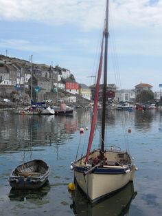 The Calm In Mevagissey, Cornwall