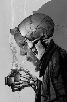 Death and Cigarettes by Simon Bisley