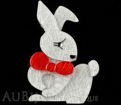 Erstwilder Pin Brooch Bouncing Bianca Bunny Rabbit