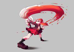 Splatoon fan art - Inkling by Shingo-Hayasa.deviantart.com on @DeviantArt