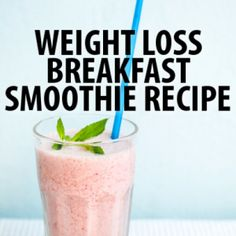 Dr Oz Two-Week Rapid Weight Loss Diet & Breakfast Smoothie Recipe