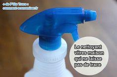 la recette du nettoyant pour vitre fait maison