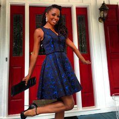Shanola Hampton in BH Aria Dress