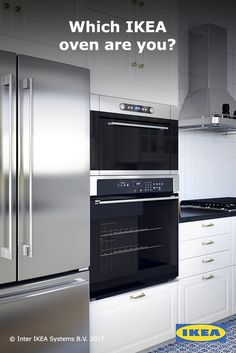 Our range of ovens is designed to suit a variety of cooking styles by offering a wide range of functions and integrated accessories. That means, whether you're a frozen pizza lover, feeding a family, or working your way through classic cookbooks, you'll find an oven that's right for you. Click to shop IKEA ovens.