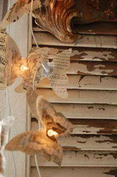 Guirlande lumineuse - objets déco - LES PETITES CARABISTOUILLES - Fait Maison