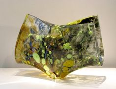 morgan contemporary glass gallery - Images for Orfeo Quagliata - Jimmiz Brainz Slumped Glass, Fused Glass Art, Cast Glass, Unusual Art, Colored Glass, Sculpture, Contemporary, Email Address, Gallery