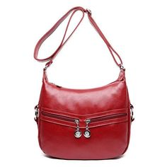 Fame Genuine Leather High Quality Women's Messenger Bag