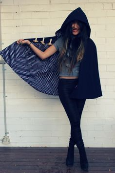 DIY CAPE  by Honest Folk