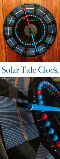 Keep track of the tides by building your own tide clock.
