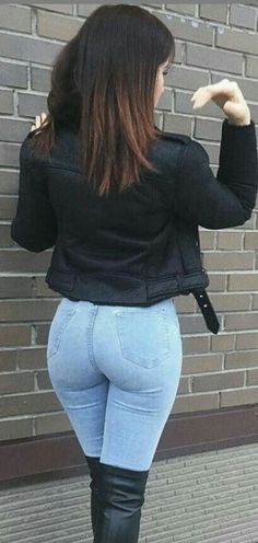 Sexy Jeans, Curvy Jeans, Skinny Jeans, Black Jeans, Mode Outfits, Sexy Outfits, Girl Outfits, Sweater Outfits, Beste Jeans