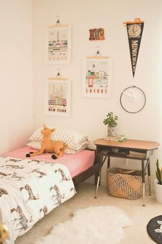 The Wolf Cub & Luna : thewolfcub.com - the boo and the boy: eclectic kids' rooms