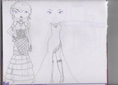 Unique Dresses - HJ Kcinley