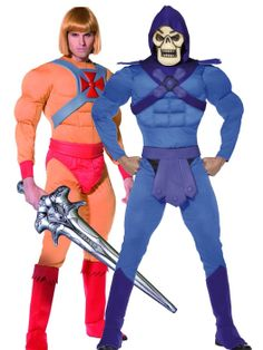 #He-Man and #Skeletor Couples #Costumes //bryonytheatrical.  sc 1 st  Pinterest & 10 best Superhero Costumes images on Pinterest | Adult costumes ...