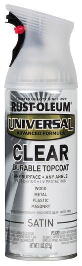RUST-OLEUM Universal Spray Paint in Gloss Satin Nickle for ...