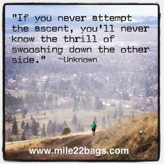 Running, inspiration, motivation, motivational quotes, inspirational quotes, exercise, fitness, half marathon, marathon. Mile 22 Bags