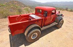 Dodge Power Wagon offroad 4x4 pickup retro custom wallpaper background