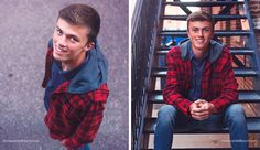 Guy senior portraits taken in Dubuque Iowa by Candid Touch Photography and Design. Senior urban sessions.