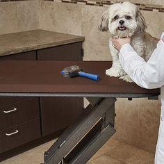 "WellnessMats Pet Mat Color: Brown, Size: Small: (28"" L x 17"" W)"