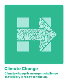 Climate change is an urgent challenge that Hillary is ready to take on.
