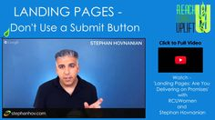 Change your Call To Action button on your website. Are you sure you want your subscribers to SUBMIT? W/ @stephanhov