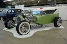 Greaser Hot Rods | 1927 Ford hot rod