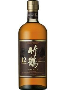 Nikka Taketsuru 12 Year Old Japanese Pure Malt #Whisky.  Aged for a minimum of twelve years, this whisky earned the Gold Medal at the International Spirits Challenge. | @Caskers