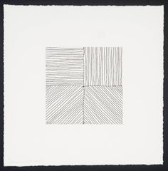 Sol LeWitt. Small Etching/Black & White No.1 1999