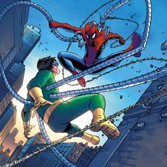 Spider-Man vs. Dr. Octopus - Andie Tong
