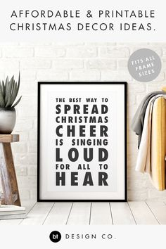 BT Design Co. Christmas Quotes, Christmas Elf, Holiday Pack, Christmas Printables, Printable Wall Art, Holiday Crafts, Captions, Letter Board, Poems