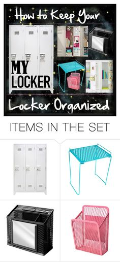 """How to Keep your Locker Organized Tip"""