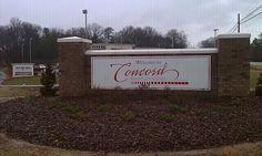 Concord, NC in North Carolina