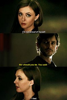 """I lied."" - Margot Verger"