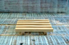 Wood soap dish, hand-made soap saver, wooden soap dish,soap holder,draining soap dish,soap deck,handmade natural soap,bathroom soap dish by CoffeeAndLavender on Etsy