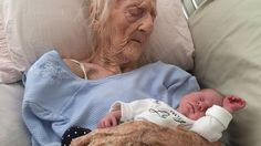 101-year-old great-grandmother in heartwarming viral photo dies | Local News - WCVB Home