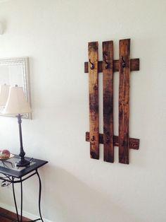 porte manteau mural vintage fabriquer 25 id es. Black Bedroom Furniture Sets. Home Design Ideas