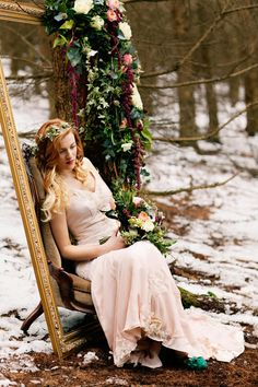 Winter Bridal Inspiration | Woodland | Stationery By Emma Jo | Flowers By Wild Orchid | Images by Jo Bradbury Wedding Photography | http://www.rockmywedding.co.uk/the-winters-tale/
