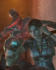 View an image titled 'Jill Poster Art' in our Resident Evil: Revelations art gallery featuring official character designs, concept art, and promo pictures. Valentine Resident Evil, Resident Evil Girl, Jill Valentine, Valentines Art, Evil Pictures, Evil Pics, Horror Video Games, Drawing Reference Poses, Video Game Characters