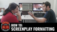 RocketJump Creative Director & Writer Mike Symonds demonstrates the 8 basic things you need to know about formatting your screenplay correctly.... Predictabl...