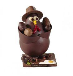 Oeuf de Pâques La Maison du Chocolat, Easter 2012