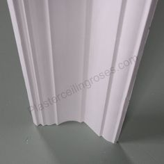 A modern plaster coving with a drop this classy plaster moulding has a contemporary look with just a hint of Edwardian glamour.