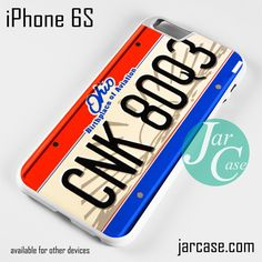 Number Plate Phone case for iPhone 6/6S/6 Plus/6S plus